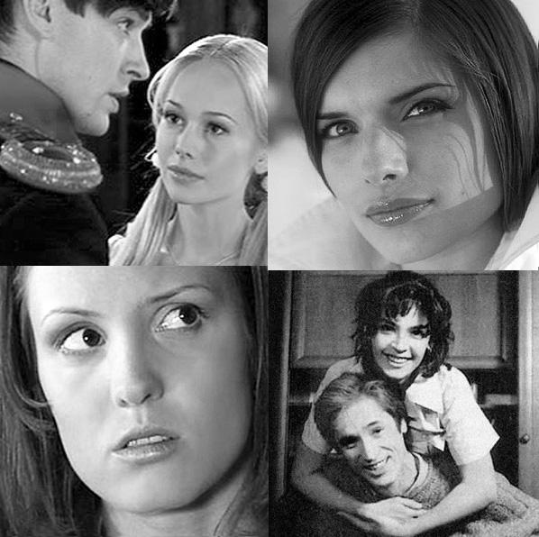 слева направо сверху вниз «Бедная Настя», «Дорогая Маша Березина», «Ундина», «Воровка»