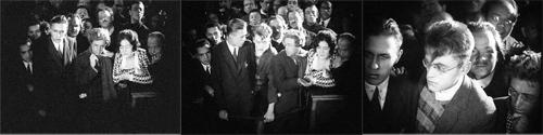 «Шахматная доска», 1925, реж. В.Пудовкин(На последнем кадре Набоков предположительно крайний слева)