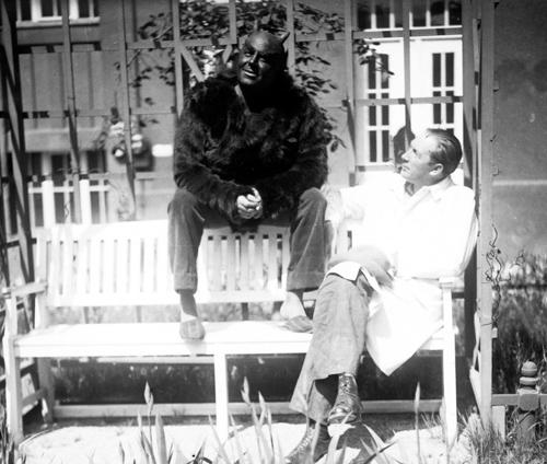 Мурнау на съёмках фильма «Фауст», 1926