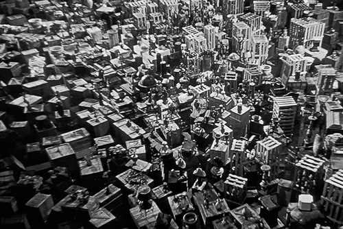 Кадр из фильма «Гражданин Кейн», реж. О. Уэллс, 1941