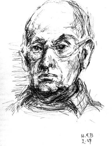 Анри Картье-Брессон. Автопортрет