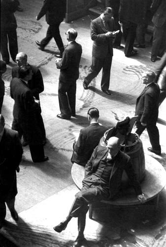 Анри Картье-Брессон. Лондонская фондовая биржа, 1955