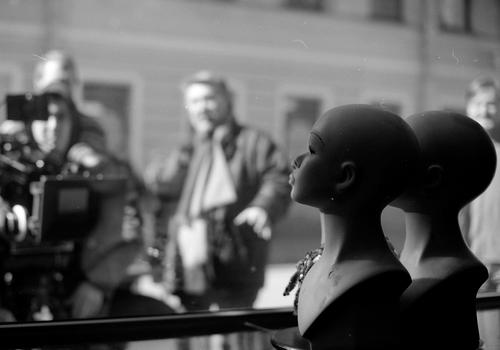 На съёмках фильма «Бриллианты» — фотография Сержа О