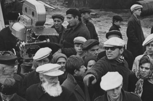 На съёмочной площадке фильма «История Аси Клячиной, которая любила, да не вышла замуж» (1967)