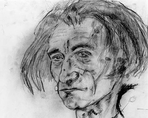 Автопортрет Антонена Арто (1947)