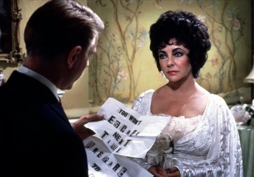 Кадр из фильма Гая Хэмилтона «Зеркало треснуло» (1980)
