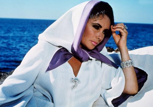 Кадр из фильма Джозефа Лоузи «Бум!» (1968)