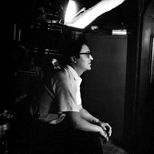 Сидни Люмет на съёмках фильма «Вид с моста» (1960) | Toutlecine.com