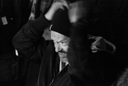 Фёдор Бондарчук на съёмках фильма «Сталинград». Фото А. Низовского