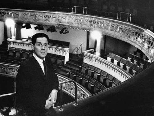 Эрланд Юсефсон назначен на должность управляющего директора Королевского драматического театра в Стокгольме (1965)