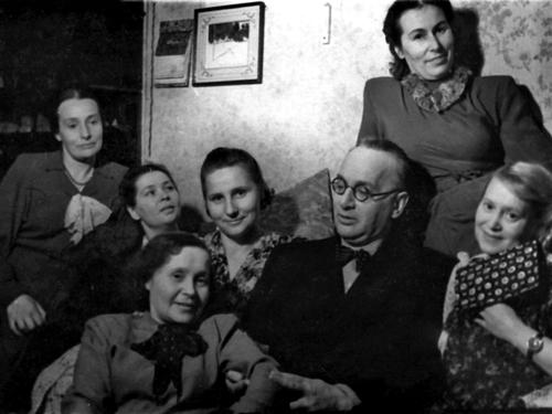 Борис Зон с курсом 1935 года выпуска