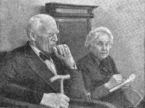 Константин Станиславский и 3инаида Соколова, 1937