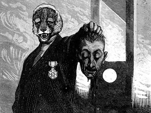Иллюстрация: Макс Эрнст. Серия «Неделя Доброты, или Семь смертельных элементов»