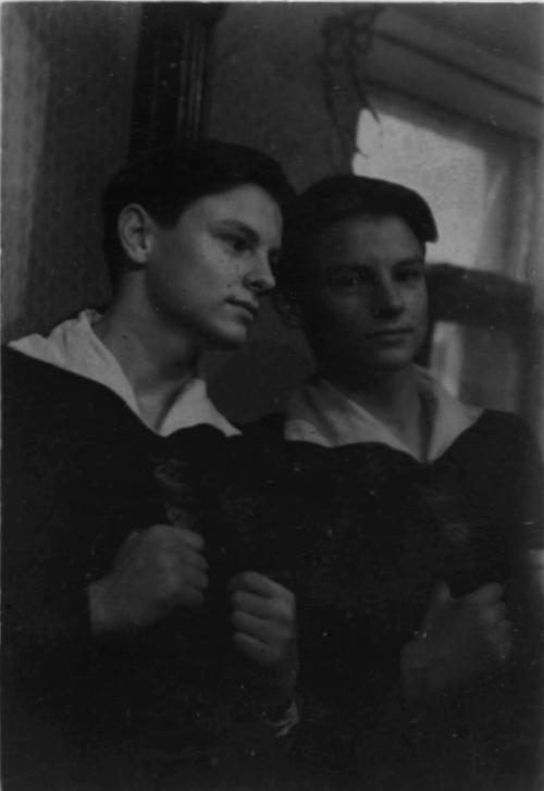 Тарковский перед зеркалом