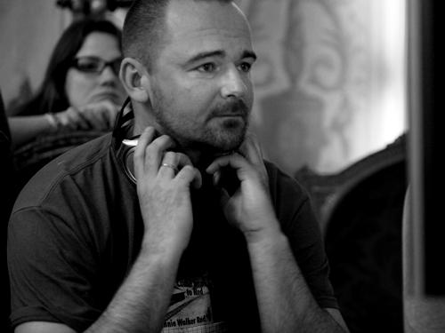 Съемки фильма «Пока ночь не разлучит». Реж. Борис Хлебников, 2012. Фото: Дина Щедринская