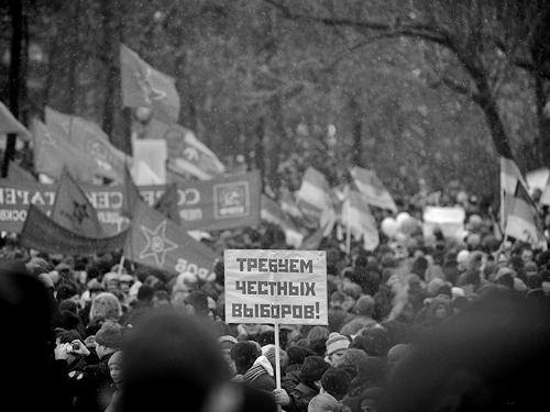 Митингующие на Болотной площади в Москве 10 декабря 2011 года.Фото: Антон Белицкий / Ridus.ru