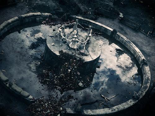 Фонтан на Центральной площади. Фото: Александр Низовский. Увеличить