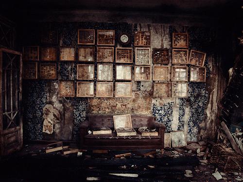 Интерьер дома Громова, наблюдательный пункт Чванова. Фото: Александр Низовский. Увеличить