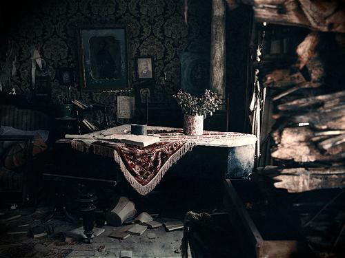 Комната Рахили Иосифовны в доме Громова. Фото: Александр Низовский. Увеличить