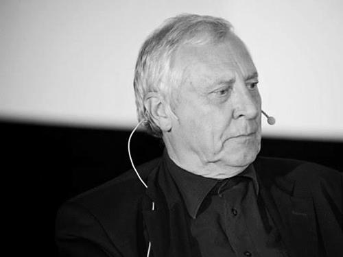 Питер Гринуэй на ОМКФ-2012. Фото: пресс-служба ОМКФ