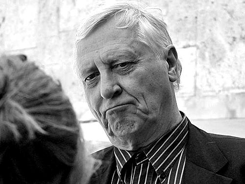 Питер Гринуэй на ОМКФ-2012. Фото: mediananny.com
