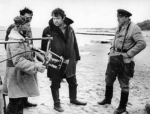 Алексей Герман на съемках фильма «Двадцать дней без войны»