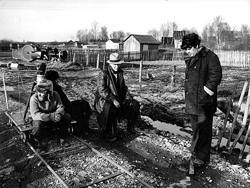 Алексей Герман на съемках фильма «Мой друг иван Лапшин»
