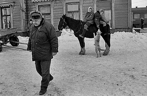Алексей Герман на съемках фильма «Хрусталев, машину!»