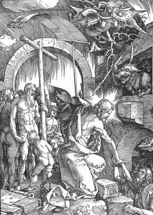 «Схождение во ад». Альбрехт Дюрер, 1510