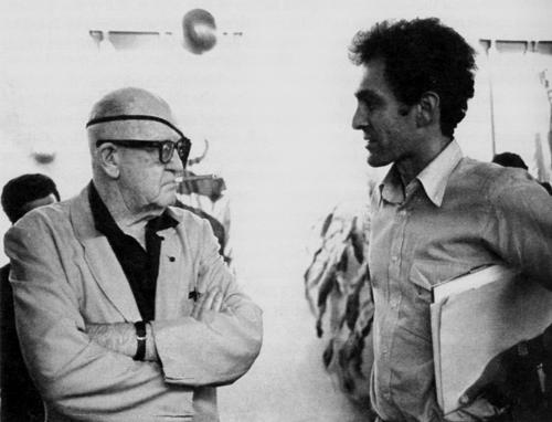 Джон Форд и Монте Хеллман на Международном кинофестивале в Монреале, 1966