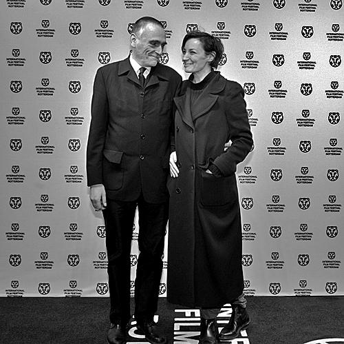 Жанна Балибар и Пьер Леон на Роттердамском кинофестивале