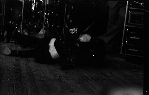 Втеатре «Время». Фото Андрея Кудрявцева, Ленинград, 1989