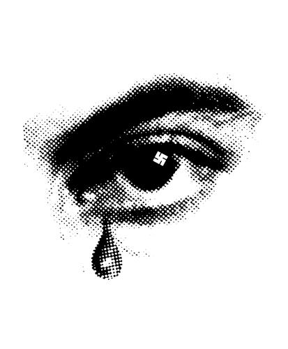 Фрагмент плаката фильма «Горе ижалость» (реж. Марсель Офюльс, 1969)