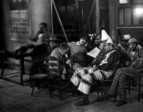 В павильонах студии UFA. 1920-е годы