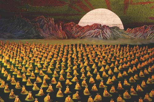 Праздник Ариран. Участвует более 100 000 актеров