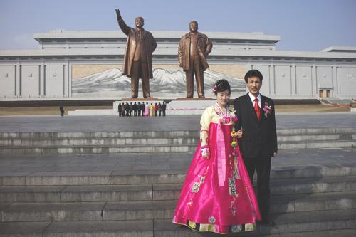 На корейской свадьбе не целуются