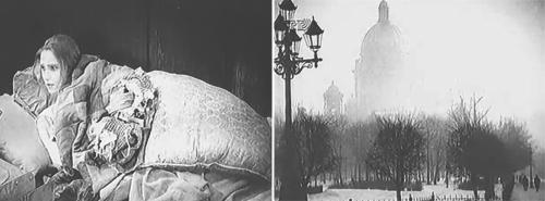 «Дом в сугробах». Реж. Фридрих Эрмлер, 1927