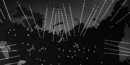 «Доктор Стрейнджлав, или Как я перестал бояться и полюбил бомбу». Реж. Стэнли Кубрик. 1964