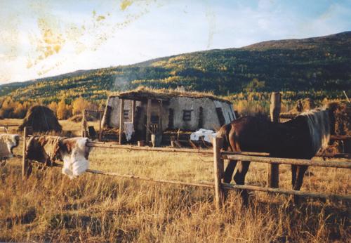 Якутская юрта в Кандалакше