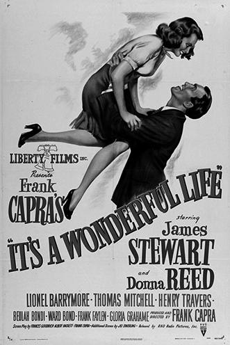 Плакат кфильму «Эта прекрасная жизнь» (реж. Фрэнк Капра, 1946), подозреваемому впропаганде коммунизма