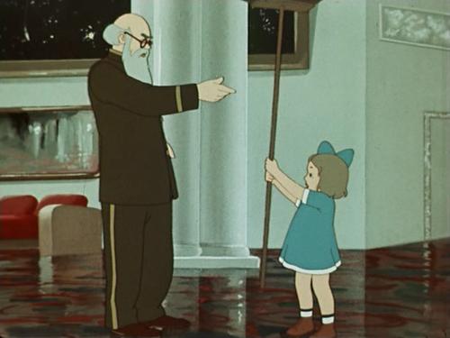 «Полет на Луну». Реж. Зинаида Брумберг, Валентина Брумберг. 1953