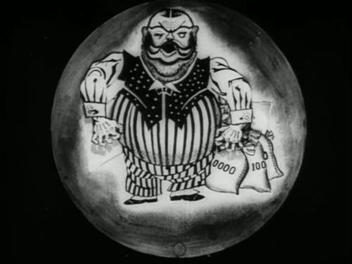 «Межпланетная революция». Реж. Николай Ходатаев, Зенон Комиссаренко, Юрий Меркулов. 1924