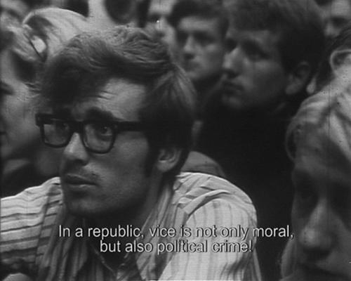 «Июньские беспорядки». Реж. Желимир Жилник, 1969