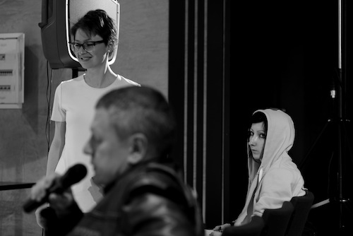 Александра Ахмадщина, Алексей Медведев и Арина Журавлева (фото: Олимпия Орлова)