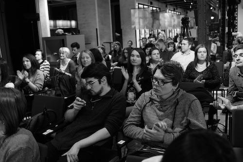 Слушатели на конференции в Москве (фото: Олимпия Орлова)