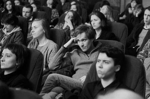 Публика на показе фильма «Голод» (фото: Александр Низовский)