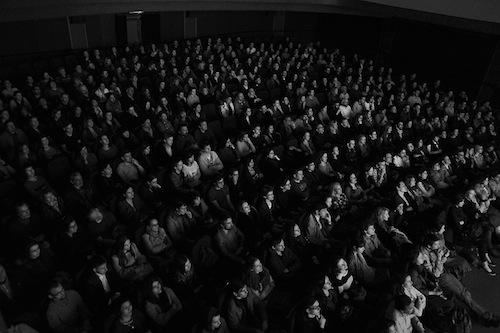 Зрители на показе фильма «Андрей Рублёв» (фото: Александр Низовский)