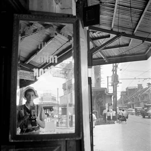 Self-Portrait in Bangkok, Thailand – June 15, 1959