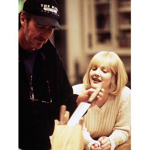 На съёмках фильма «Крик» (1996)
