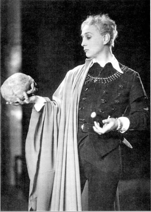 Йёста Экман в роли Гамлета (Гамлет, 1934)